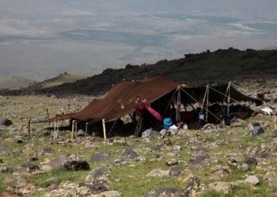 Übernachtung bei Nomaden