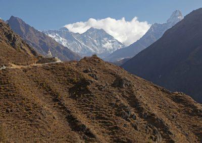 Everest, Makalu und Ama Dablam