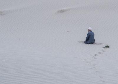 Gebet in der Wüste