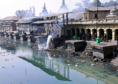 Ghats in Pashupatinath