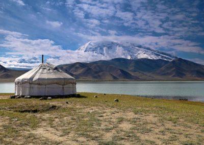 Karakul See und Muztagh Ata