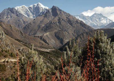 Lobuche, Everest,Makalu und Lhotse