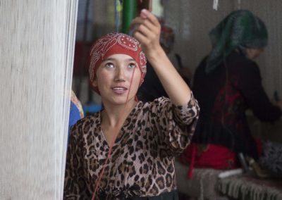 Teppichweberei Kashgar