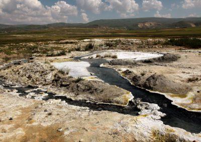 heiße Schwefelquellen um den Ararat