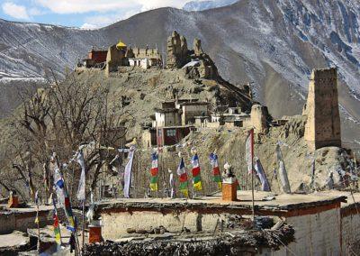 verlassenes Kloster im Khamjung Himal