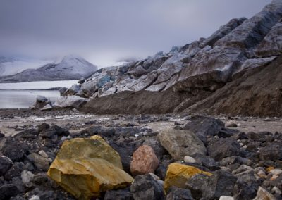 der Gletscher wächst